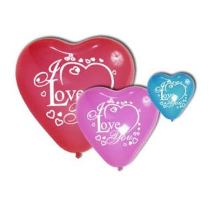 Notre coup de cœur: les ballons cœur imprimés !