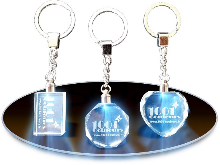 Le porte-clés cristal : véritable cadeau